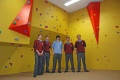 bouldering walls - proud owners St Davids CBS